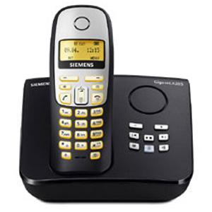 Siemens Gigaset A265 Schnurloses DECT-Telefon mit: Amazon