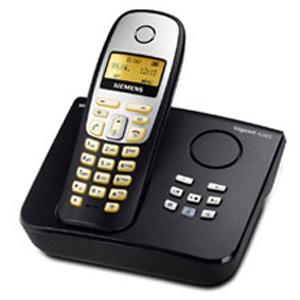 siemens gigaset a265 schnurloses dect telefon mit amazon. Black Bedroom Furniture Sets. Home Design Ideas