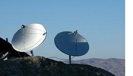 Satelliten-Abschaltung