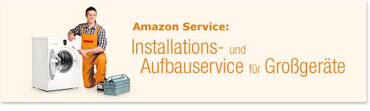 Installations- und Aufbauservice für Großgeräte