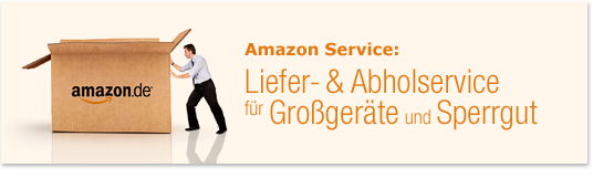 Liefer- & Abholservice für Großgeräte und Sperrgut