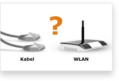 Kabel- oder WLAN Router?