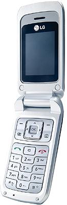 LG KP235 Handy silber / dunkelblau ohne Branding: Amazon