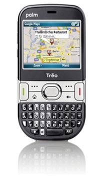 palm treo 500 smartphone handy mit umts schwarz. Black Bedroom Furniture Sets. Home Design Ideas