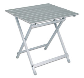 Tavolo In Alluminio Da Campeggio.Profiline Tavolo Da Campeggio In Alluminio Pieghevole 60 X 70 Cm