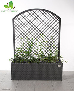 gartenfreude pflanzk bel pflanzgef e blumenk bel blumentopf f r blumen etc polyratten 102 x 36. Black Bedroom Furniture Sets. Home Design Ideas