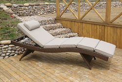 Beautiful Gartenliege Rattan Braun Pictures - House Design Ideas ...
