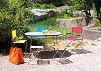 Lafuma maxi pop up lfm2383 6077 chair granny coloured cover ga - Fauteuil pop up lafuma ...