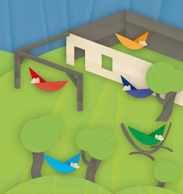 la siesta kolumbianische doppel h ngematte carolina spring. Black Bedroom Furniture Sets. Home Design Ideas