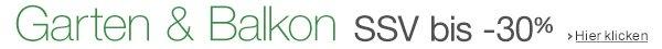 SSV Garten & Balkon: bis -30% reduziert