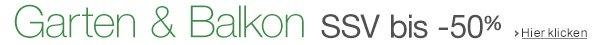 SSV Garten & Balkon: bis -50% reduziert