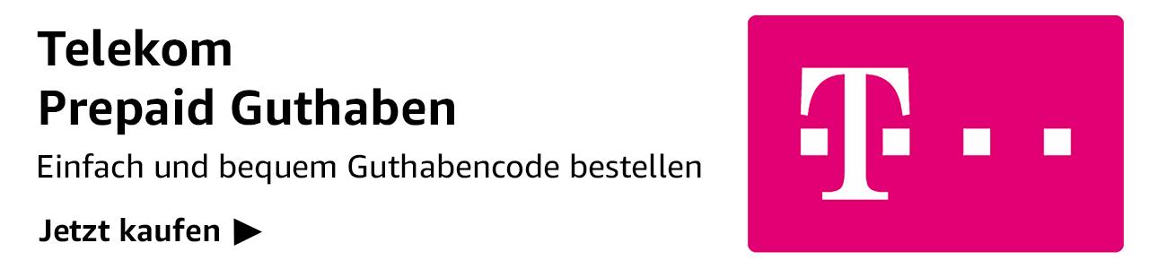 Telekom Prepaid Guthaben