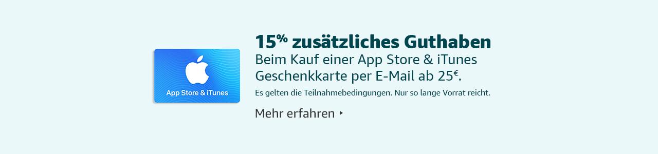 APp Store und iTunes Aktion