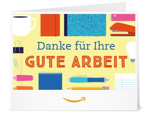 Amazon.de Gutschein zum Drucken (Danke fuer Ihre gute