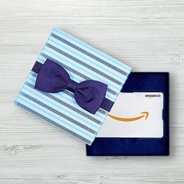 Amazon-Geschenkgutscheine mit Geschenkbox