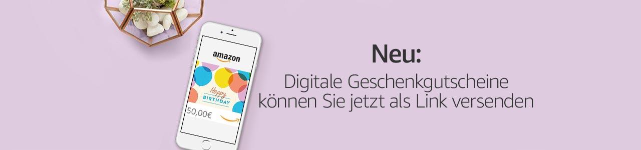 Jetzt neu: Digitale Geschenkgutscheine als Link versenden