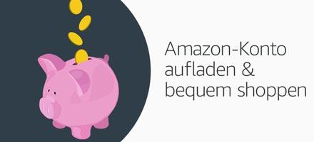 Amazon-Konto aufladen und bequem shoppen