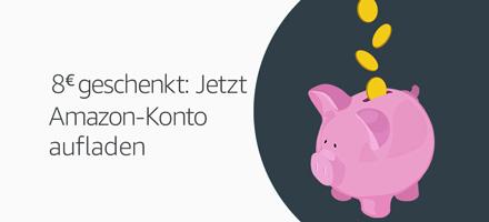 8€ geschenkt: Jetzt Amazon-Konto aufladen