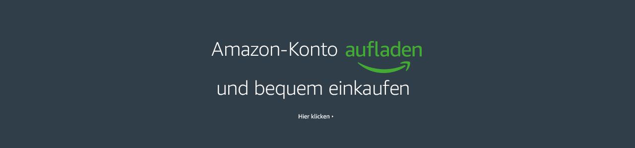Amazon Konto aufladen und bequem einkaufen