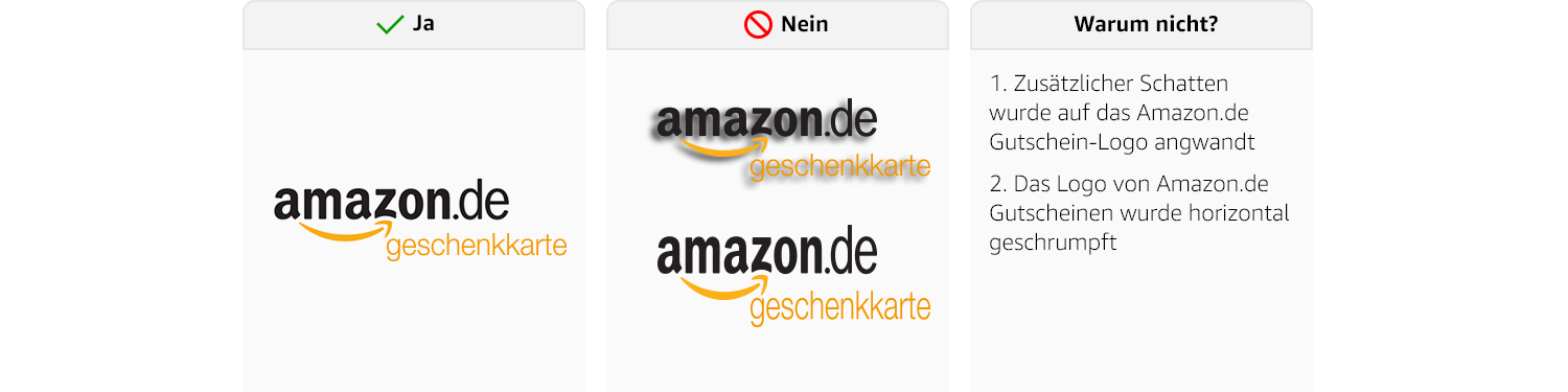 Amazon.de: Gift Cards Brand Guidelines - Amazon Incentives ...