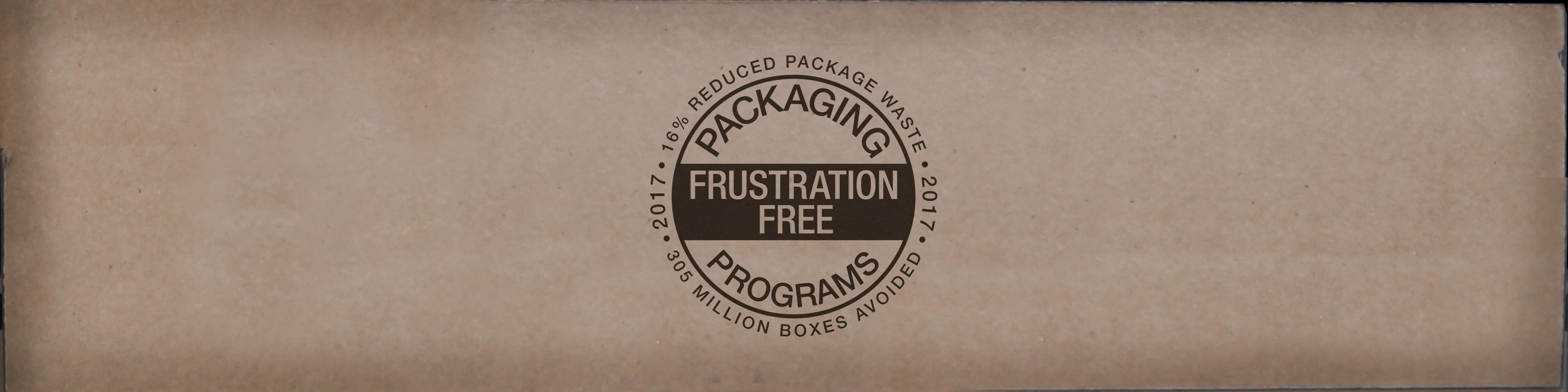 Amazon Frustration Free Packaging Programs