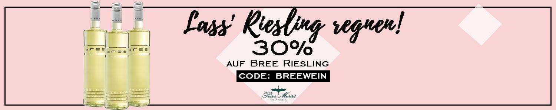 Bree Riesling 30% reduziert