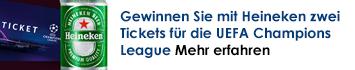 Gewinnen Sie jetzt Tickets für die UEFA Champions League