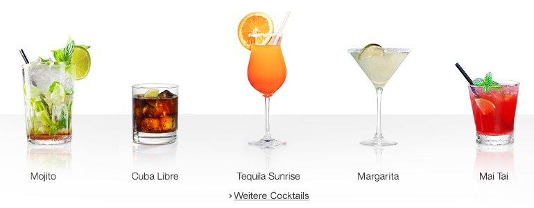 Mojito, Rum, Whisky