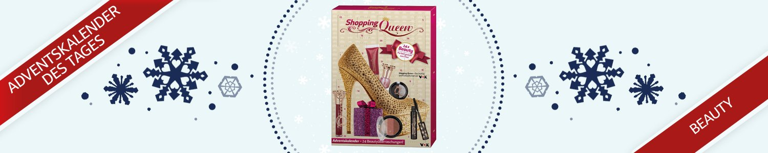 Shopping Queen Beauty Adventskalender 2016, 1er Pack (1 x 24 Stück)
