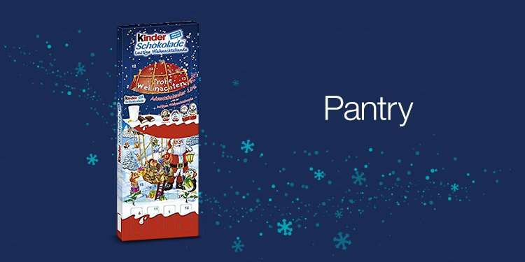 Adventskalender in der Pantry Box