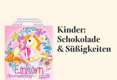Kinder: Schokolade & Süßigkeiten