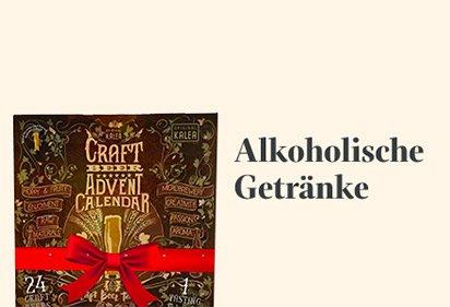 Alkoholische Getränke Adventskalender