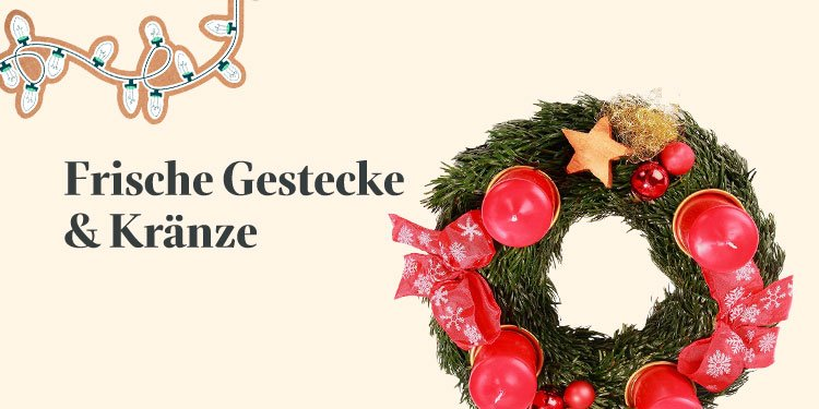 Frische Gestecke & Kränze