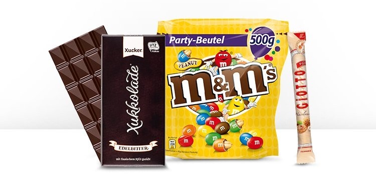 Schokolade & Süßigkeiten