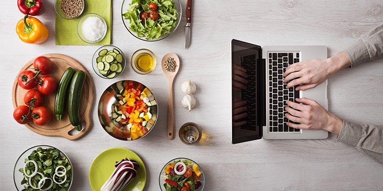 Food-Blogger Rezepte Online Kochinspriration für gesundes Kochen Gesunde Ernährung