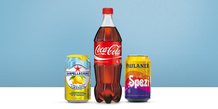 Cola, Limonade