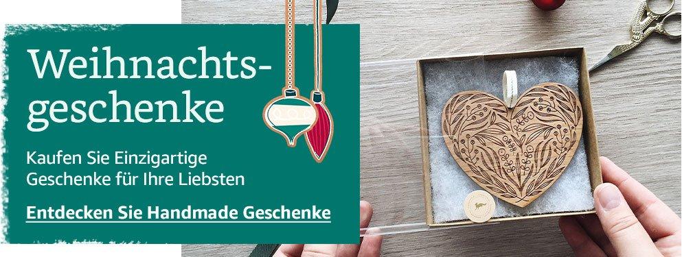Weihnachtsgeschenke. Kaufen Sie Einzigartige Geschenke für Ihre Liebsten. Entdecken Sie Handmade Geschenke