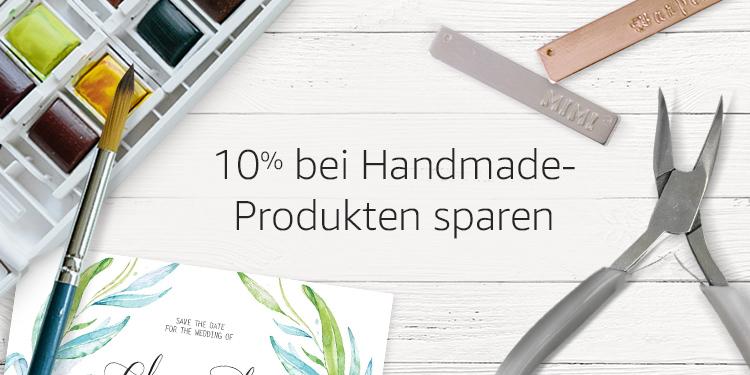10% auf handgefertigte Produkte bei Prime sparen