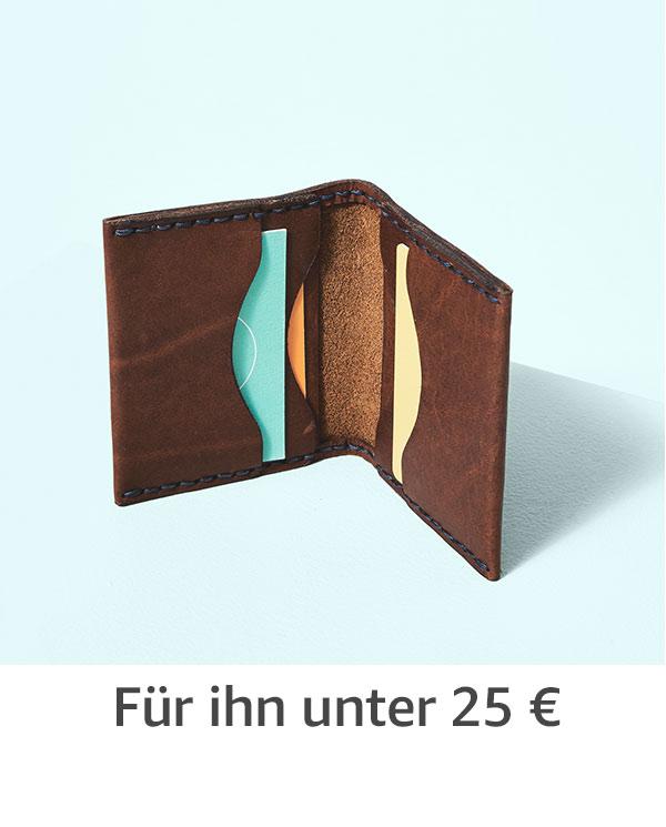 Für ihn unter 25 €