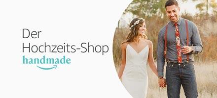 Handmade. Der Hochzeits-Shop. Einzigartiges für Ihren schönsten Tag entdecken