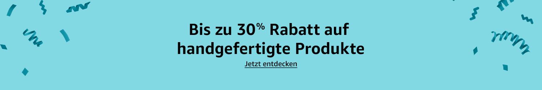 Bis zu 30% Rabatt auf ausgewählte Produkte