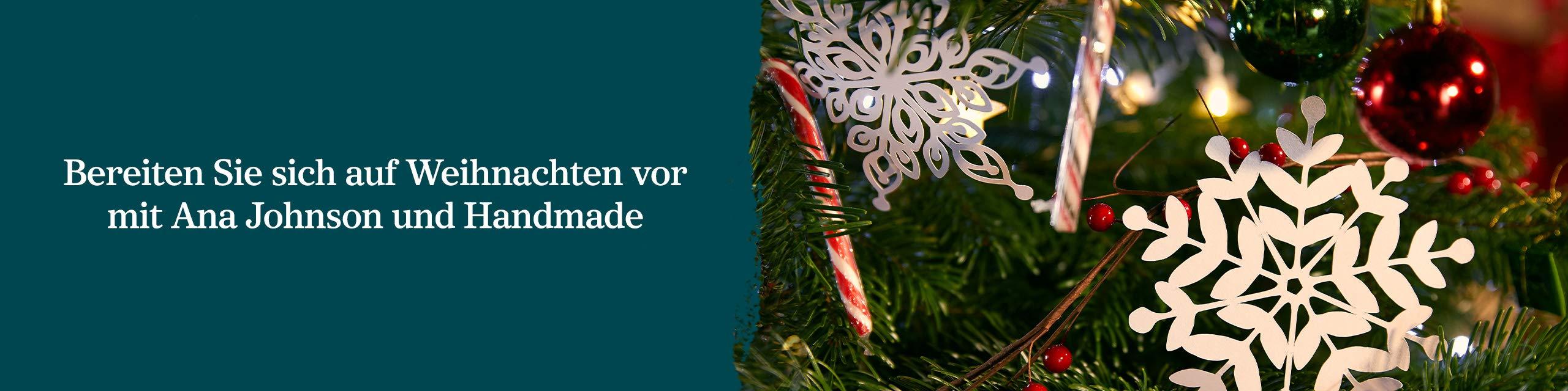 Weihnachten mit Ana Johnson und Handmade