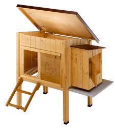 Designer Hühnerstall ferplast 57094500 hühnerstall hen house 10 für bis zu 4 hennen