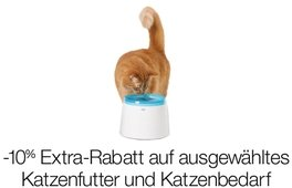 -10% auf ausgewähltes Katzenfutter und Katzenbedarf