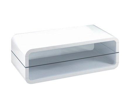 Presto mobilia 10947 Couchtisch Wohnzimmertisch TV Rack Tisch Ovalis ...