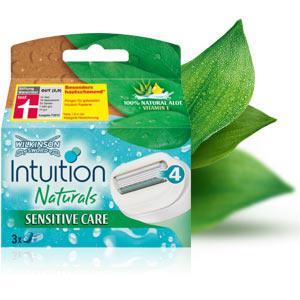 Wilkinson Sword Intuition Naturals Sensitive Care Klingen