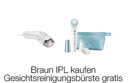 Braun IPL Gesichtsreinigungsbürste gratis