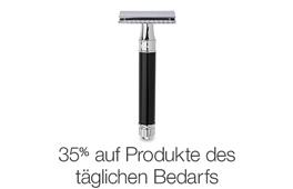 Sommerschlussverkauf - 35% auf Produkte des täglichen Bedarfs
