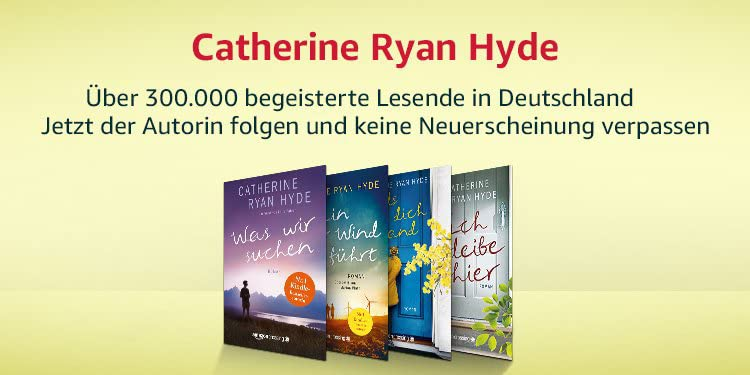 Bestseller-Autorin CAtherine Ryan Hyde
