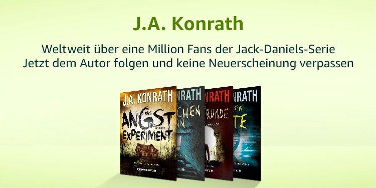 Bestseller-Autor J.A.Konrath